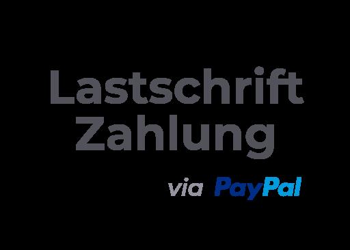 Zahlungsmethode Lastschrift mit Paypal